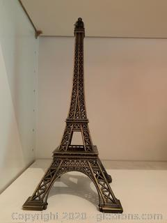 Tabletop Iron Eiffel Tower Sculpture