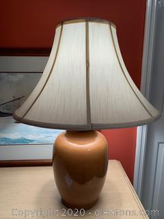 Glazed Pottery Hollow Table Lamp