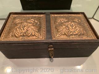 Venetian Acanthus Wooden Jewelry Box