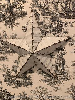 Farmhouse Rustic Tin Star Wall Hanging