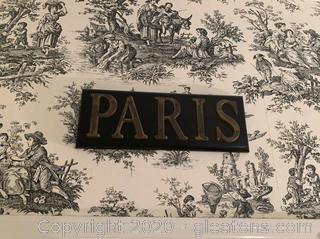 Decorative Name Plates of European Capitals