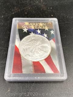 1 Oz. Fine Silver Dollar Coin