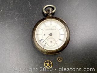 Aurora Watch Co. Pocket Watch