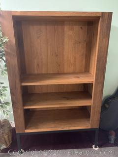 Lifted Book Shelf/Entertainment Center