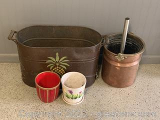Collection of Pots and Plant Holders