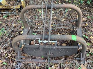 Vintage Tractor Dirt Scoop