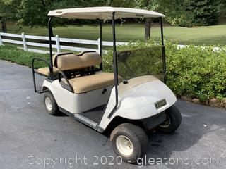 Nice E-Z-GO Golf Cart with BATTERIES 1 YEAR OLD - No Issues