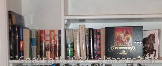 Mixed Media Treasures Hard Back Novels, Puzzle ,Video