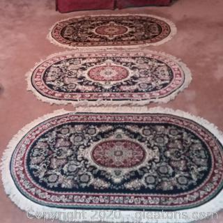 3 Jolynn Oval Accent Rugs