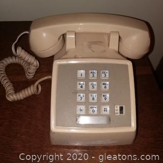 Vintage Western Electric Push Button Phone