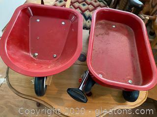 Radio Flyer Toy Wagon & Wheelbarrow