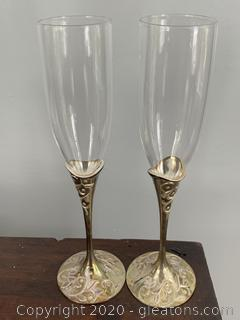 Lenox Vintage Champagne Flutes