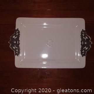 Chris Madden Rectangular Platter