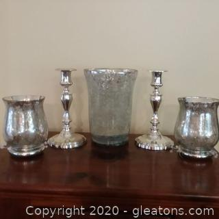 Candle Holders (Lot of 5)