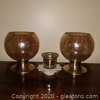 4 Candle Holders