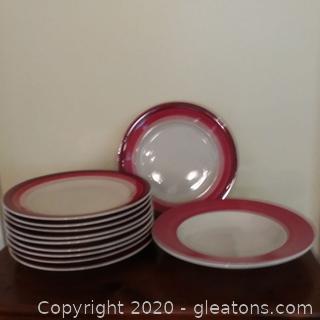 Table Top Trio Plates