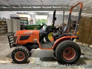 2015 Kubota B 2320 Tractor MFWD - Runs Good