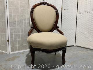 Antique Highback Chair