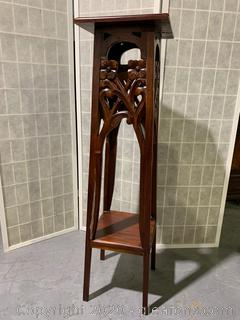Hand Carved Rose Wood Stand