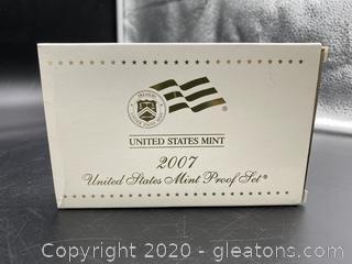 2007 U.S. Mint Proof Set