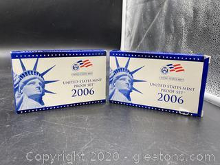 2006 U.S. Mint Proof Set (2)