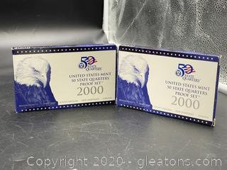 200 U.S. Mint 50 State Quarters Proof Set