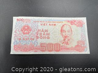 Nam Tram Dong Vietnam Currency