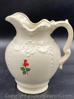 Ayers Porcelain Pitcher