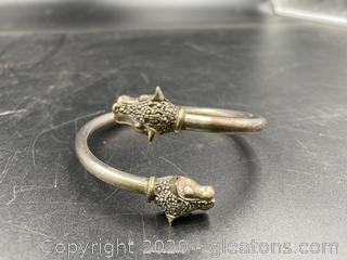 Decorative Sterling Bracelet