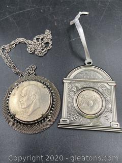 Centennial Commemorative Coin Pendants