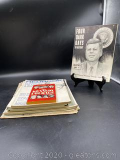 JFK Print Collectibles 1963-65