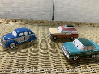 "The Original Snow Village- ""Classic Cars"""