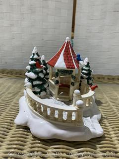 "The Original Snow Village- ""Village Gazebo"""