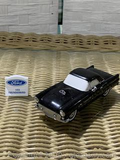 "The Original Snow Village- ""1955 Ford Thunderbird"