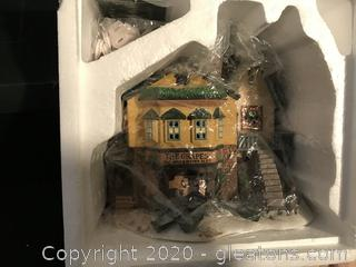 Exclusive Retired Special Edition of Dept. 56 THE GRAPES INN 5th in Series