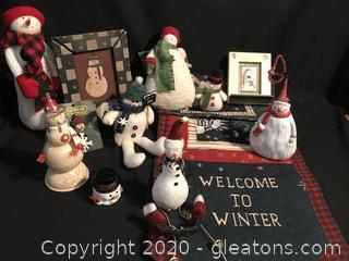 Snowman lot,