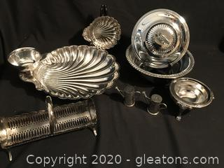 Silver Serving pieces
