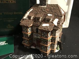 Exclusive Retired Special Edition of Dept. 56 THE GRAPES INN 4th EDITION