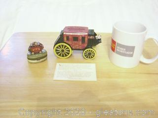 Lot of Wells Fargo Collectibles