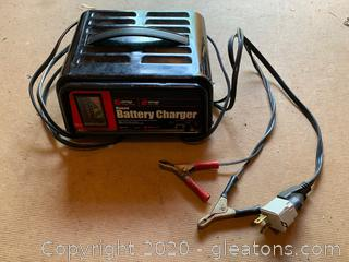 Schumacher Manual Battery Charger (For 6 and 12 Volt Batteries)