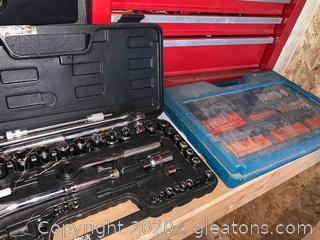 Allied Ratchet and Socket Set