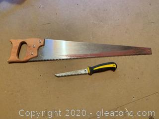 Pair of Hand Saws