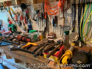 Variety of Work Tools