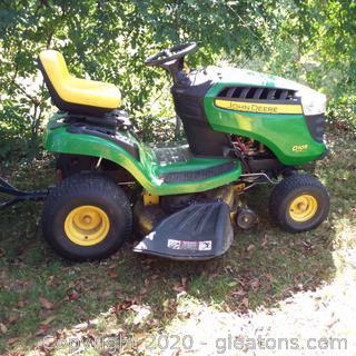 John Deere D105 Auto Lawn Mower