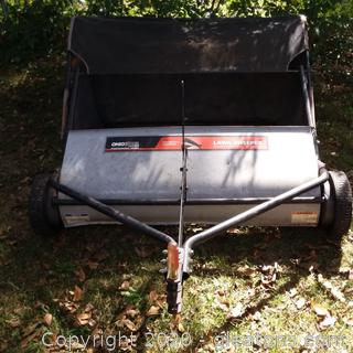 "Ohio Steel (42"") 22 Cubic Foot Tow Behind Lawn Sweeper"