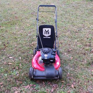 "Yard Machines 21"" Briggs and Stratton Walk Behind Self Propelled Lawn Mower"