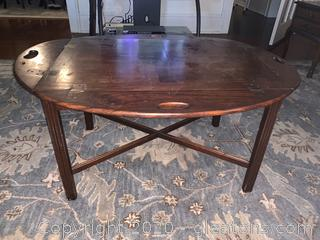 Handled Drop Caf Coffee Table