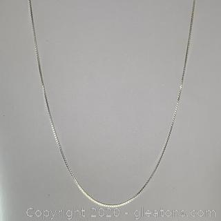 Sterling Silver Chain - 18""