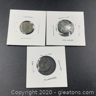 (C) Ancient Roman Empire Coins