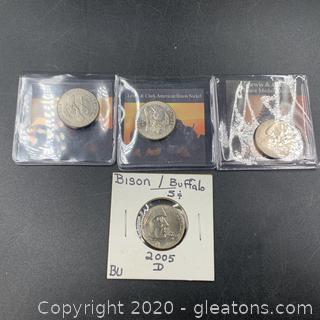 Lot of Buffalo Nickels B